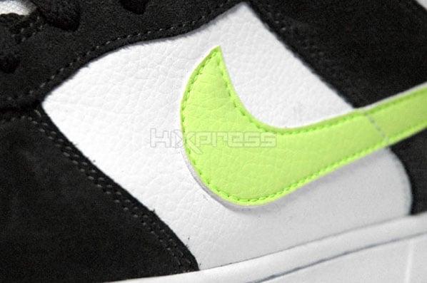 Nike Dunk 6.0 Low White/Volt-Dark Army