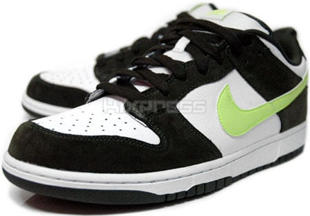 Nike Dunk 6.0 Low White/Volt-Dark Army