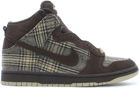 Nike Dunk SB High Tweed