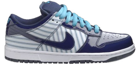 Nike Dunk SB Low Avenger Blue Patent Leather