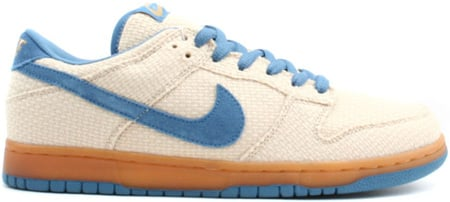 Nike Dunk SB Low Hemp Cascade Blue