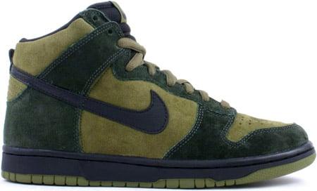 size 40 fdcb1 6f689 Nike Dunk SB High Hulk
