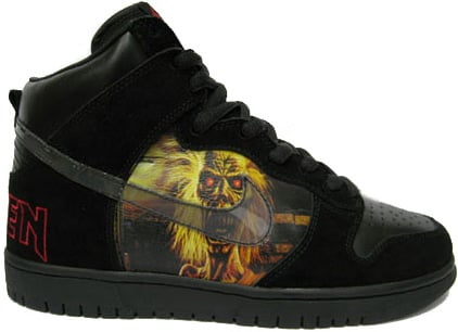 Nike Dunk SB High Iron Maiden