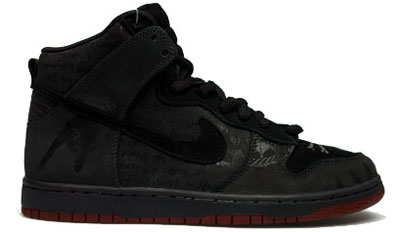 Nike Dunk SB High Melvins Blood