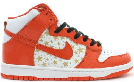 Nike Dunk SB High Supreme Orange