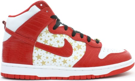 Nike Dunk SB High Supreme Red