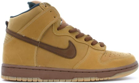 Nike Dunk SB High Wheat Bison