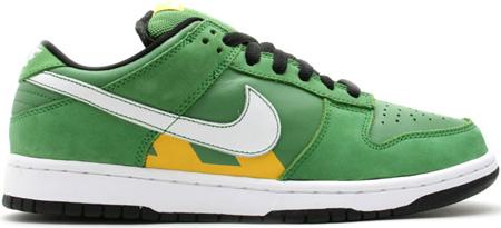Nike Dunk SB Low Tokyo Taxi Green