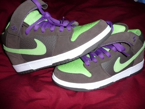 Nike Dunk SB Mid Donatello Sample