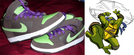 best sneakers 4456c 58c9c ... Nike Dunk SB Mid Donatello Sample ...