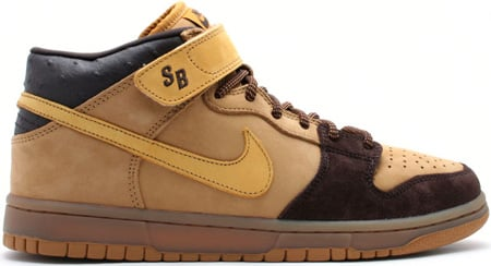 Nike Dunk SB Mid Wheat/Bronze