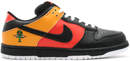 Nike Dunk SB Low Rayguns Homeguns