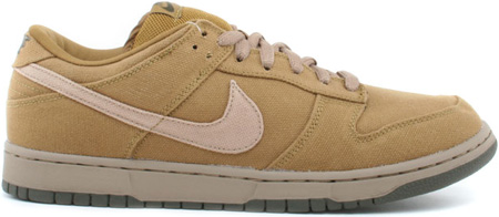 Nike Dunk SB Low Sandalwood - Vegan