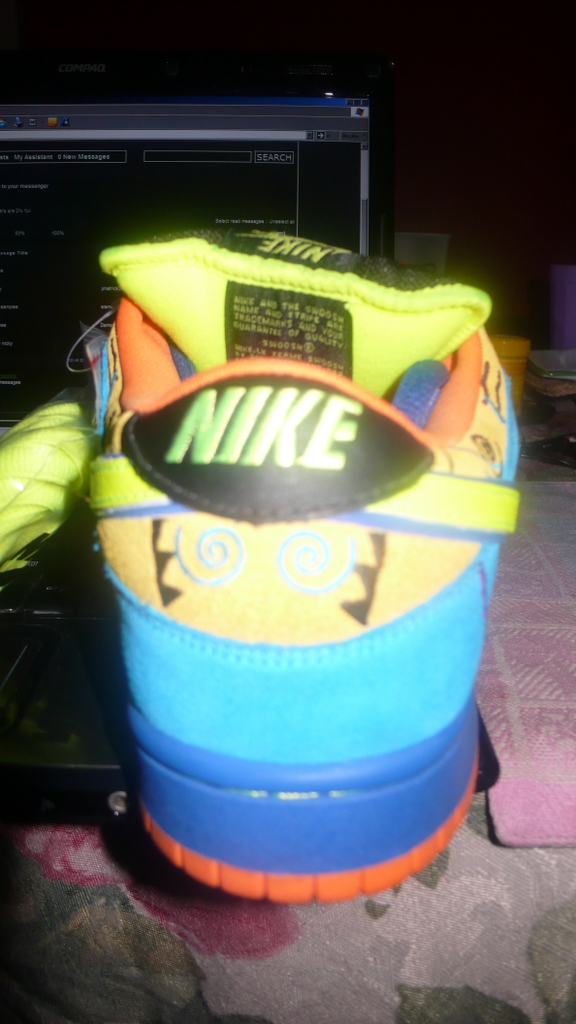 Nike Dunk SB Low Skate or Die Sample