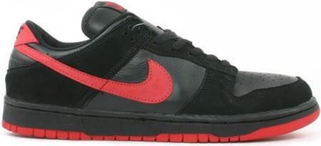 Nike Dunk SB Low True Black Vamps