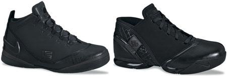 all black lebrons
