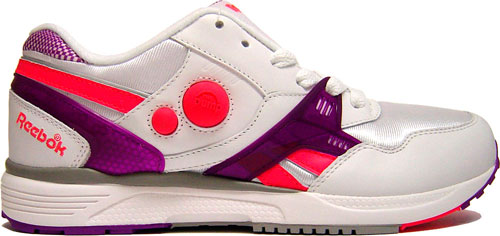 Reebok Pump Running Dual White/Purple at Purchaze
