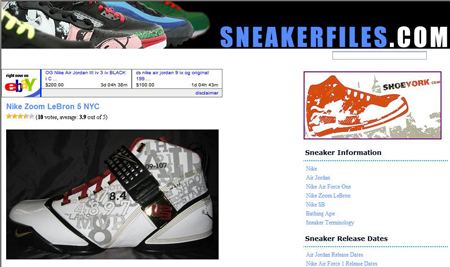 Sneaker Files Old Look
