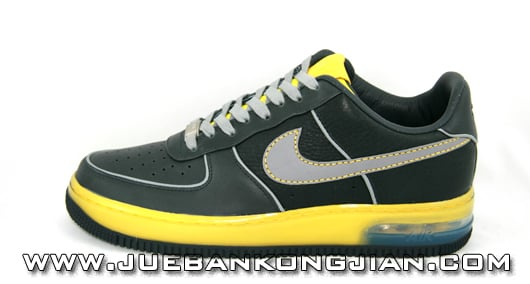 Nike 25th Anniversary Air Force 1 Supreme Black/Yellow