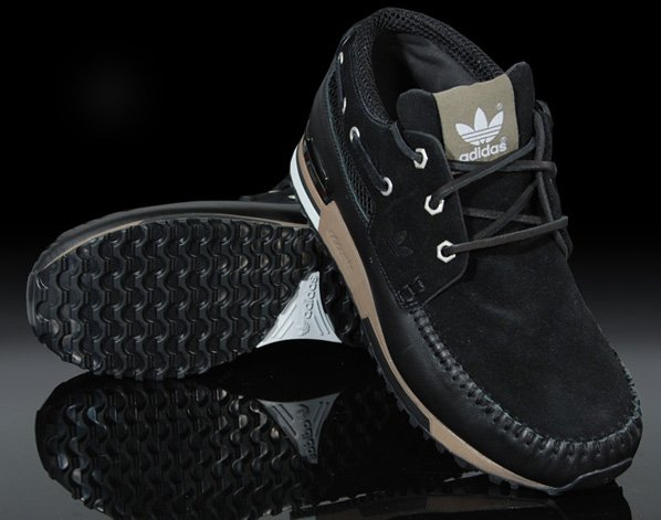 Adidas ZX700 Boat Black and Saddle