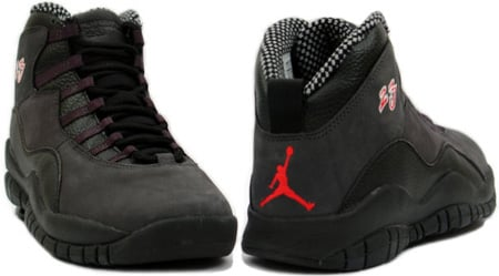 Air Jordan X (10) Shadow Countdown Pack