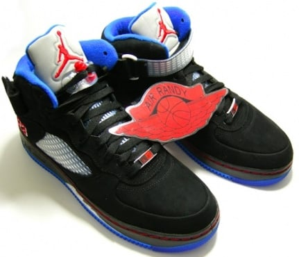 cf58b1777e1 Air Jordan 5 (V) Fusion Black/Varsity Blue-Blue Ribbon | SneakerFiles