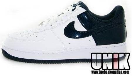 Nike Air Force 1 - Obsidian/White