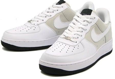 Nike Air Force 1 - Light Bone/White