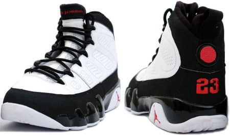 Air Jordan IX (9) White/True Red-Black Countdown Pack