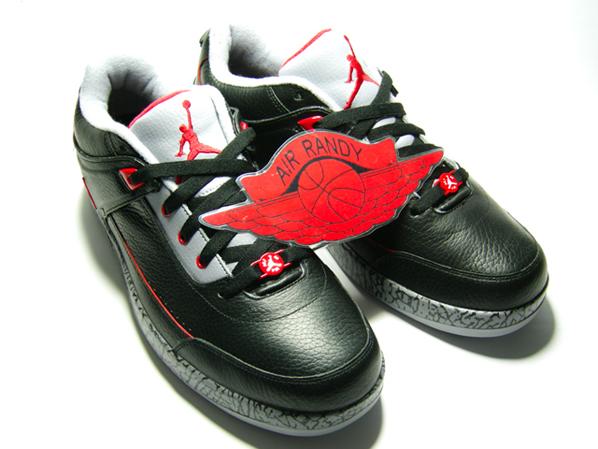 Air Jordan Classic 87 Black/Cement-Red
