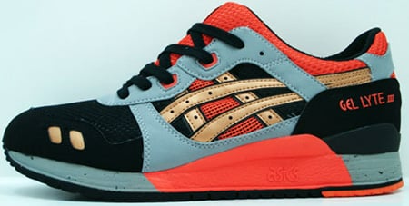 Asics Gel Lyte III Black/Orange