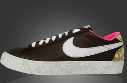 online store c233d b6460 Womens Nike Court Force Hi and Blazer Low - Bambi