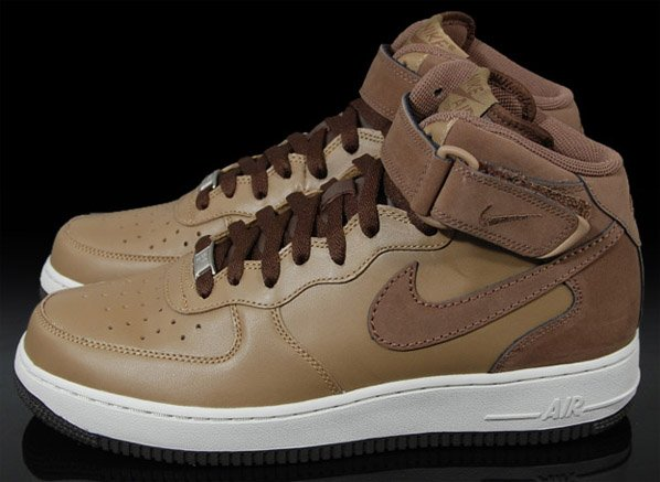 Nike Air Force 1 Mid Shades Of Brown