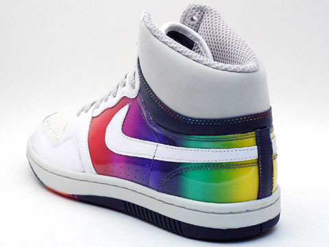 Nike Court Force Hi Premium - Rainbow