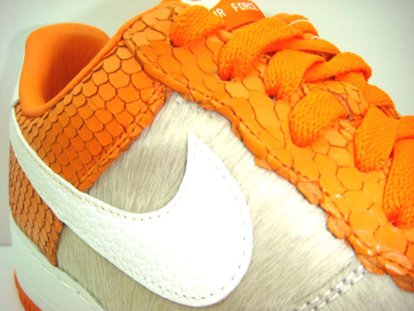 Nike x Daisuke Matsuzaka - Dragon Air Force 1 Supreme Inside Out
