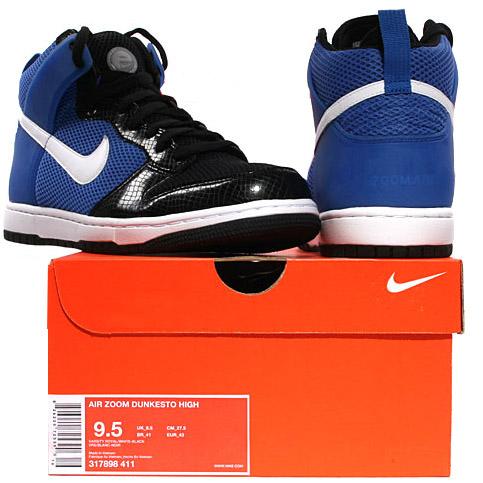 Nike Air Zoom Dunkesto High Blue Python
