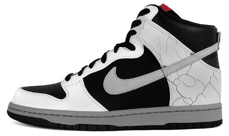 Nike Dunk High - White/Neutral Grey/Black