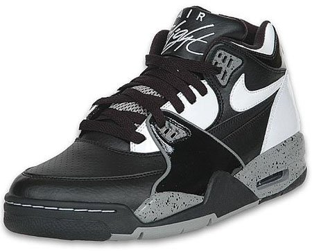 Nike Air Flight 89 - Air Jordan 4 Oreo Inspired