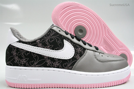 312f8 313c9 nike womens air force 1 le grey pink huge selection of ... c158654e966c