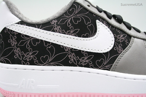 Nike Womens Air Force 1 LE - Grey/Pink