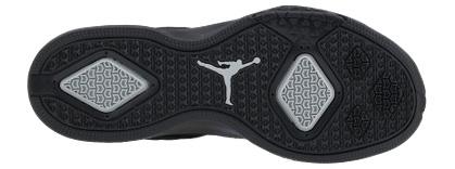 Air Jordan Oo'Wee Black/Metallic Silver