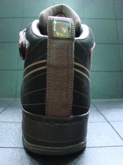 Nike Air Force 1/Air Jordan 12 Fusion Sample - Brown/Black