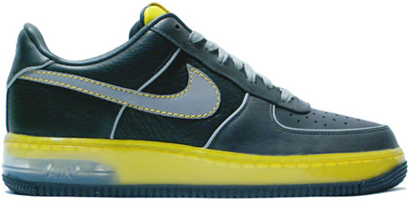 Nike Air Force 1 Anthracite/Light Charcoal-Zest