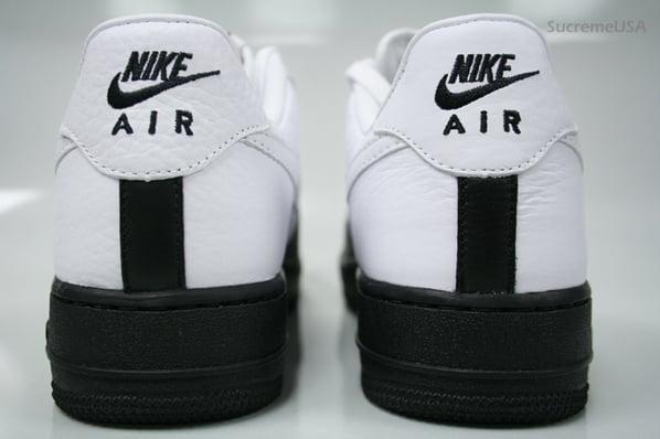 Nike Air Force 1 x Jordan 12 White/Black