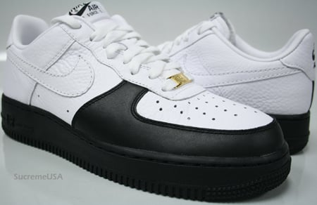 best sneakers 5fad8 6324a Nike Air Force 1 x Jordan 12 WhiteBlack