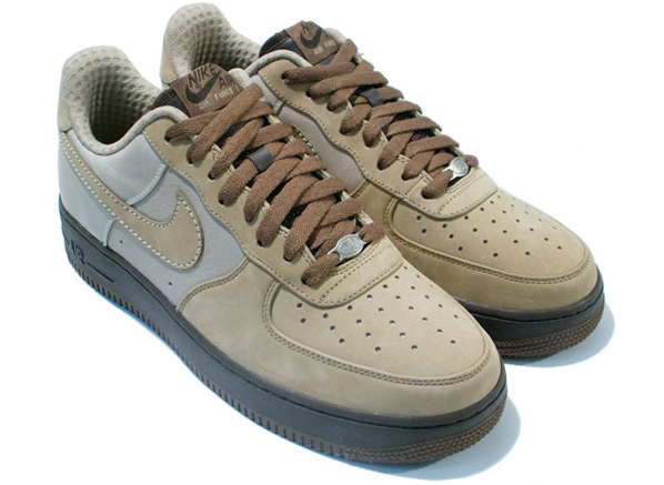 Nike Air Force 1 Tweed/Tweed-Light Bone Baroque Brown