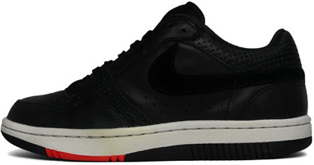 Nike Court Force Low Black - Light Bone - Engine