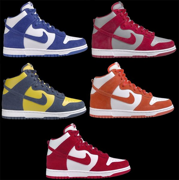 nike dunks  release dates