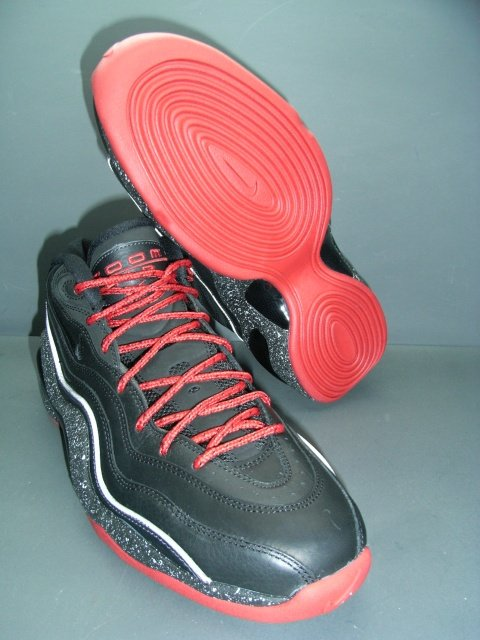 Nike Zoom Flight Retro 96 Black/Red More Pictures