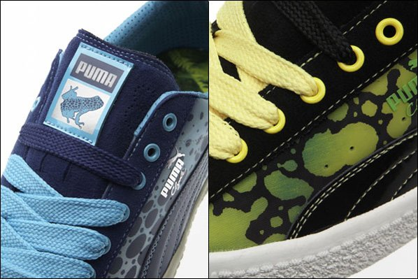 Puma Clyde Poison Dart Frog Pack
